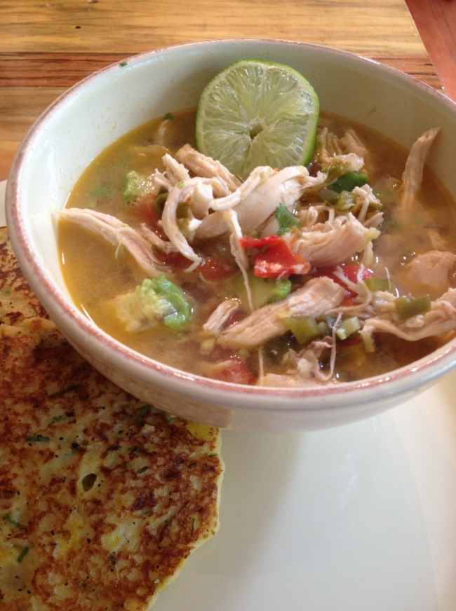 tasty tuesday: chicken+avocado soup and summer squash ...